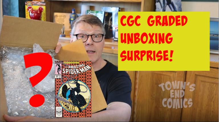 CGC Graded Comic Unboxing Surprise!