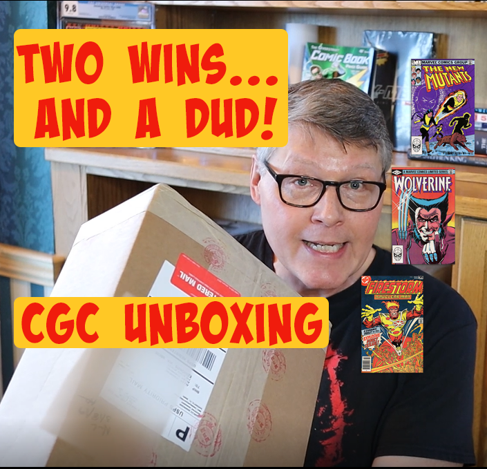 CGC unboxing 2 - two wins and a dud